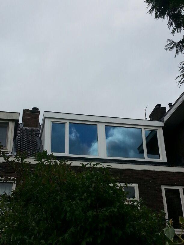 Dakkapel renovatie met zonwerende beglazing te Utrecht.