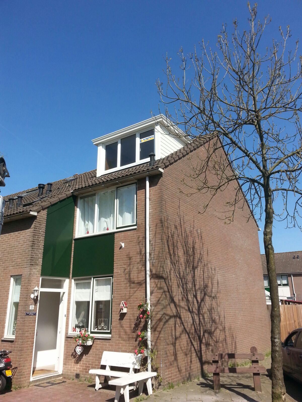 Twee Prolux dakkapellen gemonteerd in Amsterdam!