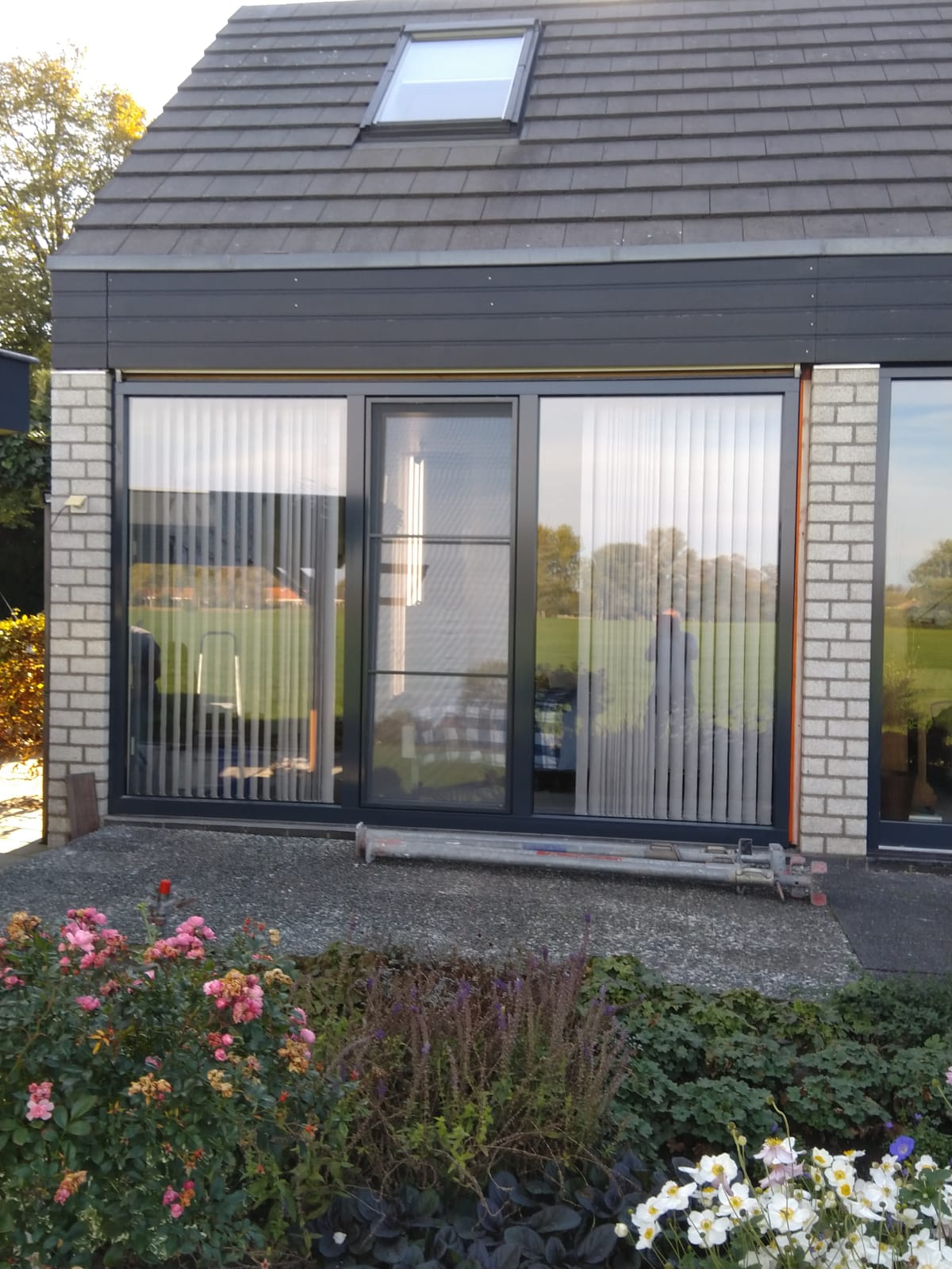 Openslaande deuren en draaikiep deur te Loenen aan de vecht!