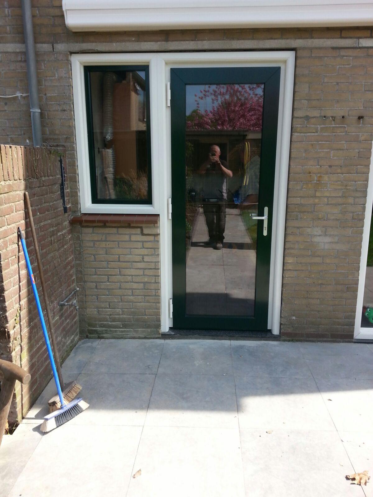 Classic achterdeur gemonteerd te Maarssen!
