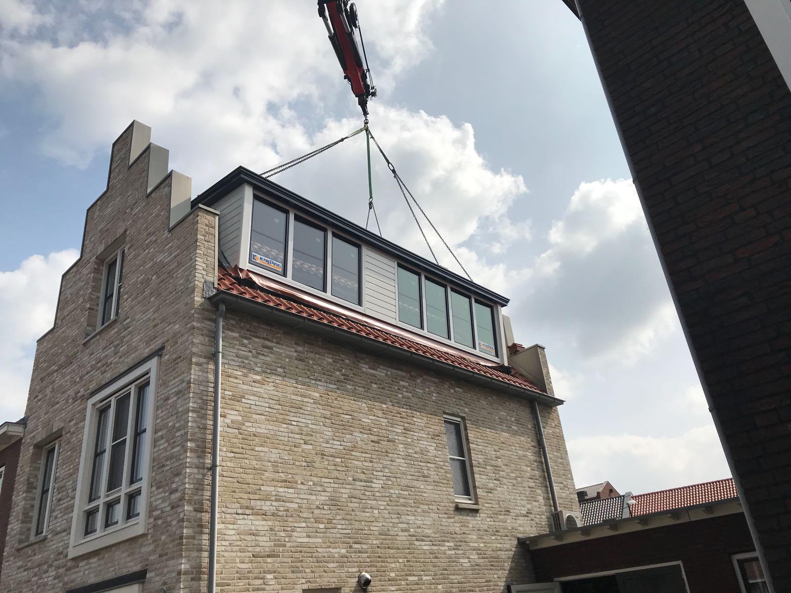 Super mooie Prolux dakkapel gemonteerd te Bunschoten!