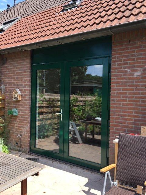 Openslaande deuren en een vast raam te Utrecht!