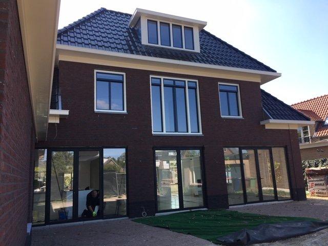 Prachtige nieuwbouw woning voorzien van Knipping kozijnen en deuren te Soest!