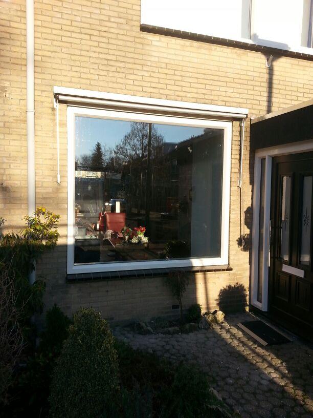 Voorzijde van deze woning te Driebergen voorzien van Gayko voordeur en kozijnen!