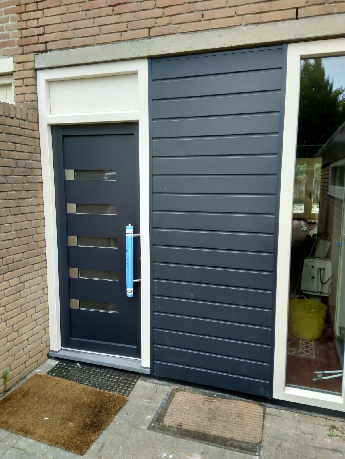 Kunststof kozijnen en deuren in de wijk Couwenhoven te Zeist!
