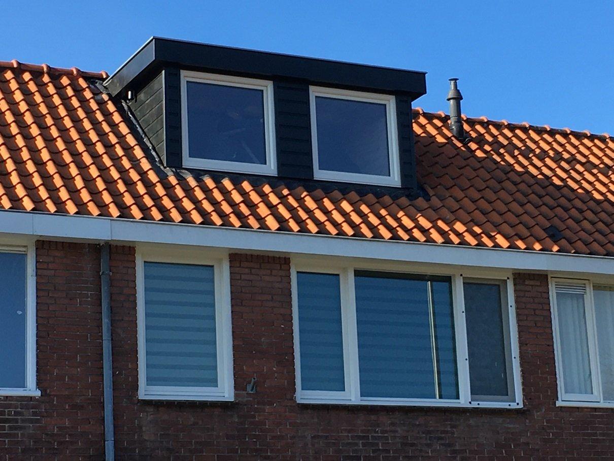 Traditionele dakkapel gemonteerd te Utrecht!