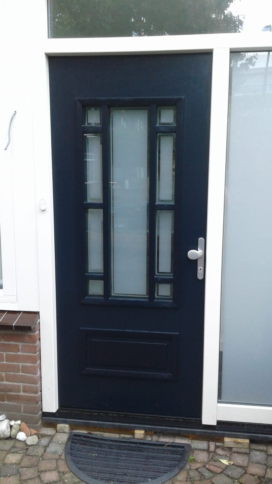 Mooie voordeur gemonteerd te Doorn!