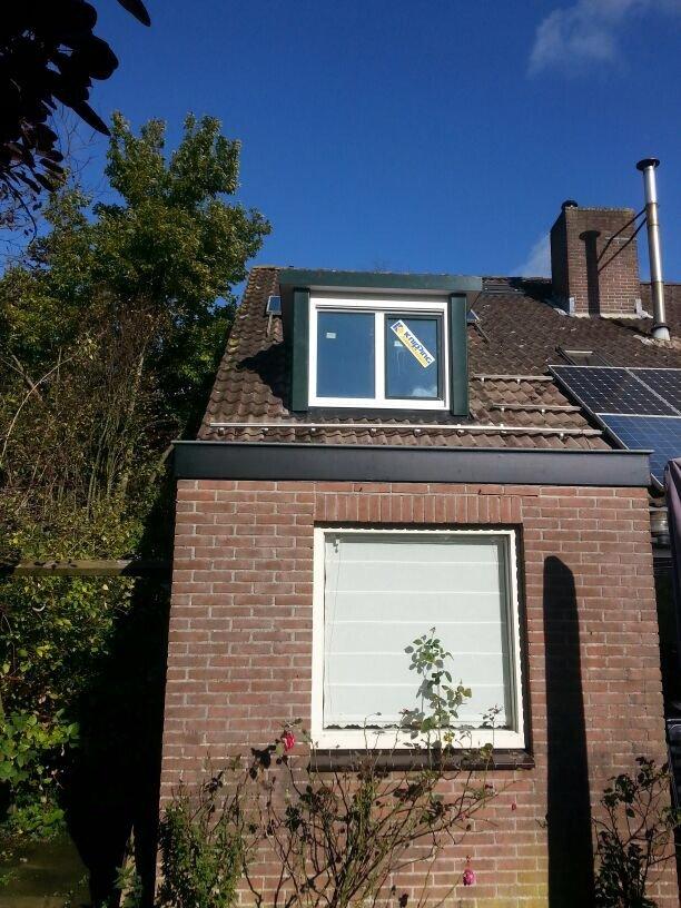 Twee extreem goed geisoleerde dakkapellen gemonteerd te Werkhoven.