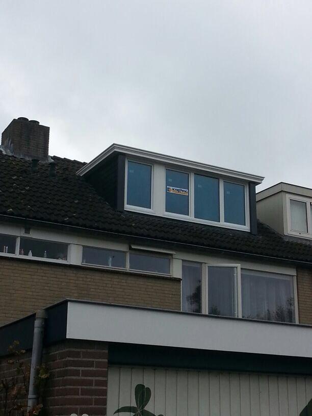 Twee prolux dakkapellen en kozijnen gemonteerd te Nieuwegein.