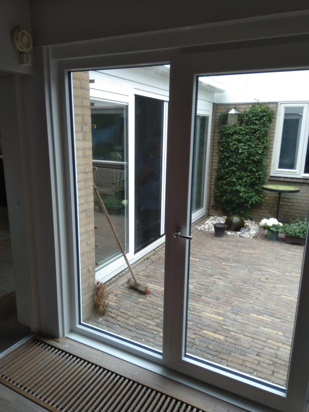 Draaikiep deur gemonteerd in Oss!