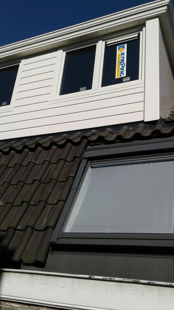 Prolux dakkapel met borstwering gemonteerd in centrum van Utrecht!