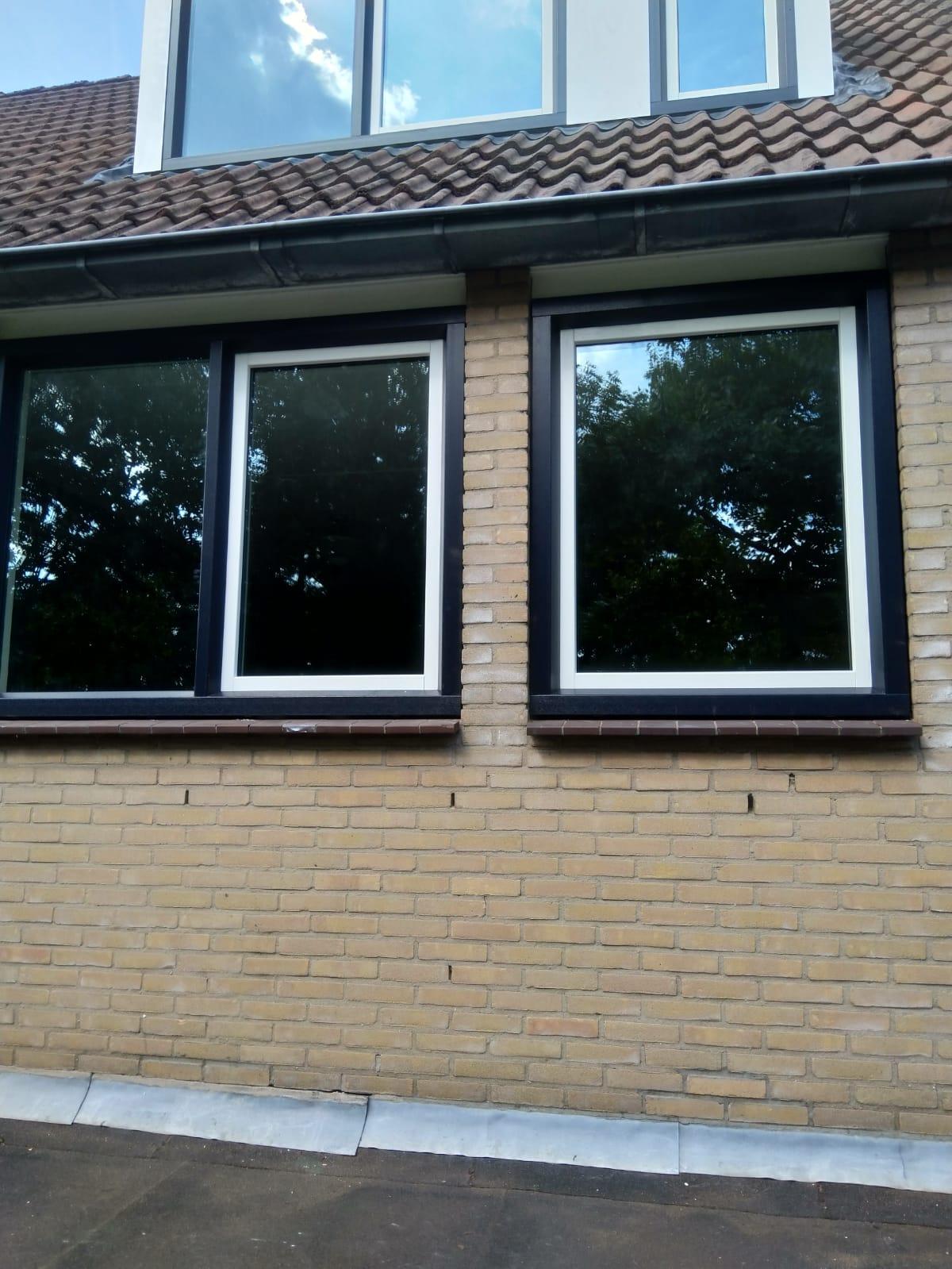 Kunststof kozijnen gemonteerd en dakkapel gerenoveerd te Wijk bij Duurstede!